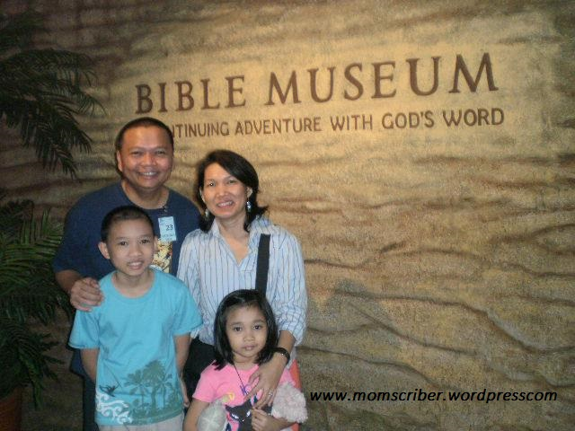 At the Bible Museum