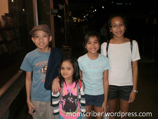 Our kids: Coby, Jianne, Bea and Bettina